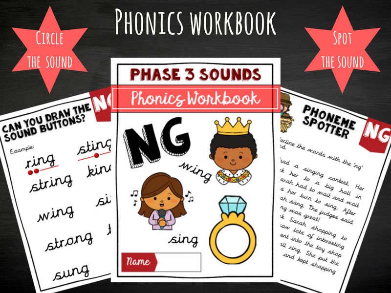 'Ng' Phonics Workbook