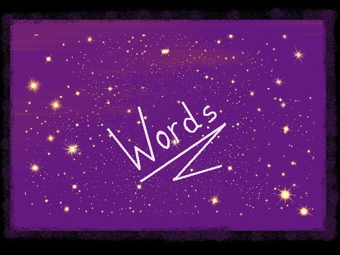 SPACE - Word Gaps in a Picture + Word Bank