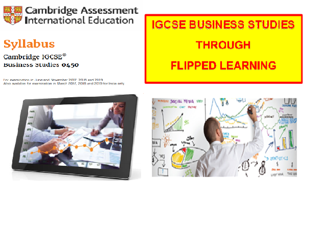 Year 11 Cambridge International IGCSE Business Studies Flipped Notes Booklet 2