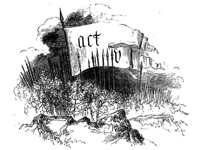 IGCSE / IB Shakespeare: Macbeth - Act 5, Scene 2-4: Birnam Wood & Dunsinane (Activities + ANSWERS)