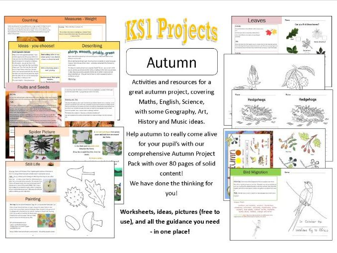Autumn Project for EYFS/Y1/home-education