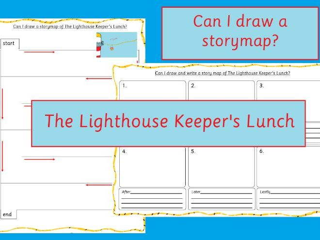 The Lighthouse Keeper's Lunch Storymap