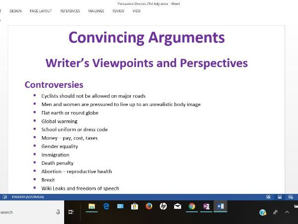 Persuasive Devices, Examples, Ideas, Sample Questions and More