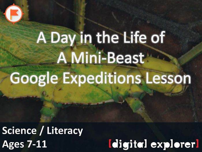 Day in the life of a mini-beast #GoogleExpeditions Lesson