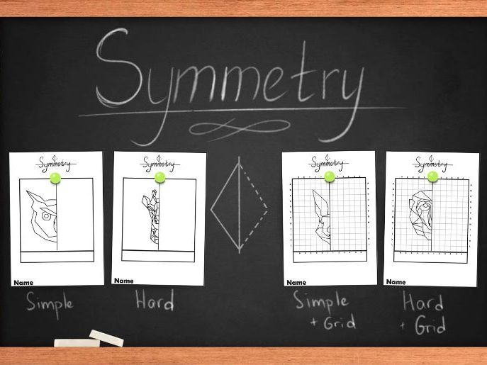Symmetry worksheets, symmetry practice activity. Printable worksheets.