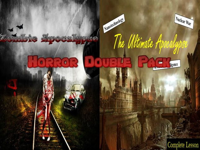 Dystopian Apocalypse Double Pack  - Creative Writing