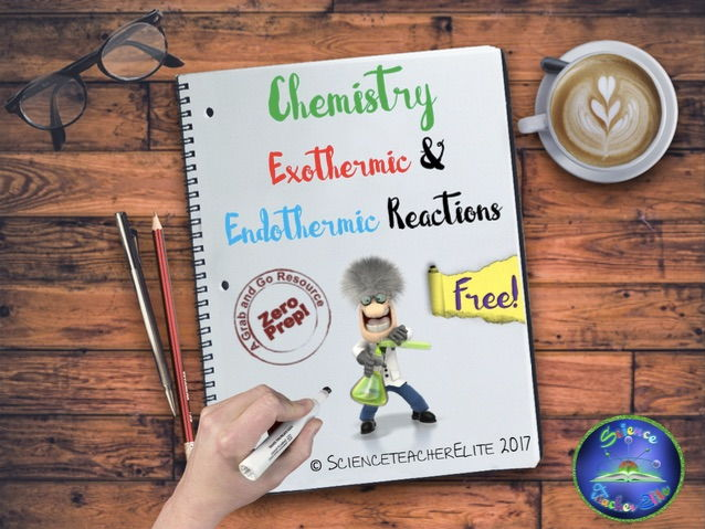 Exothermic & Endothermic Reactions Worksheet