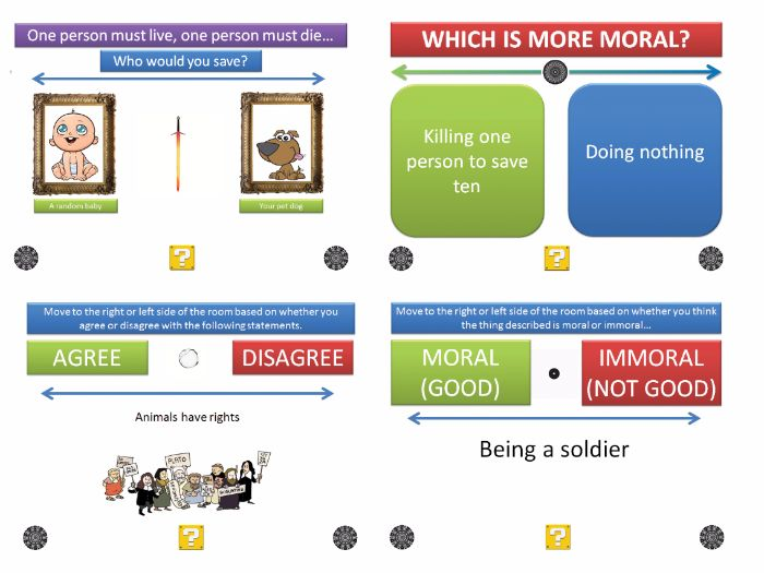 [P4C] The Moral Dilemma Generator [Free Demo Version]