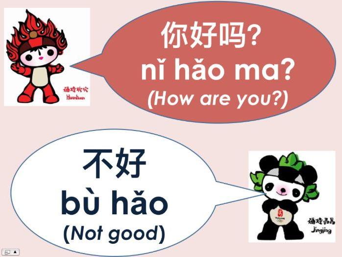 Mandarin Chinese Taster Lesson