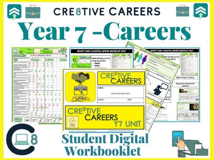 Careers Digital Work booklet Activities