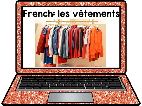 French Presentation: Les vêtements (clothes)