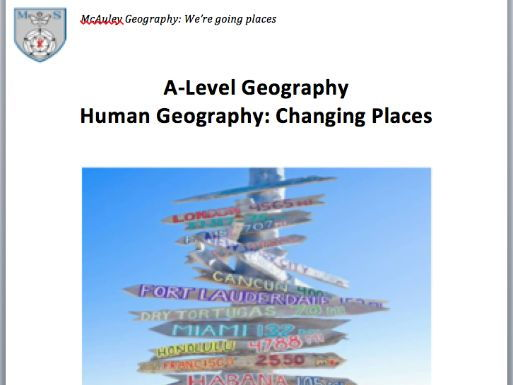 AQA Changing Places Workbook Lesson 2