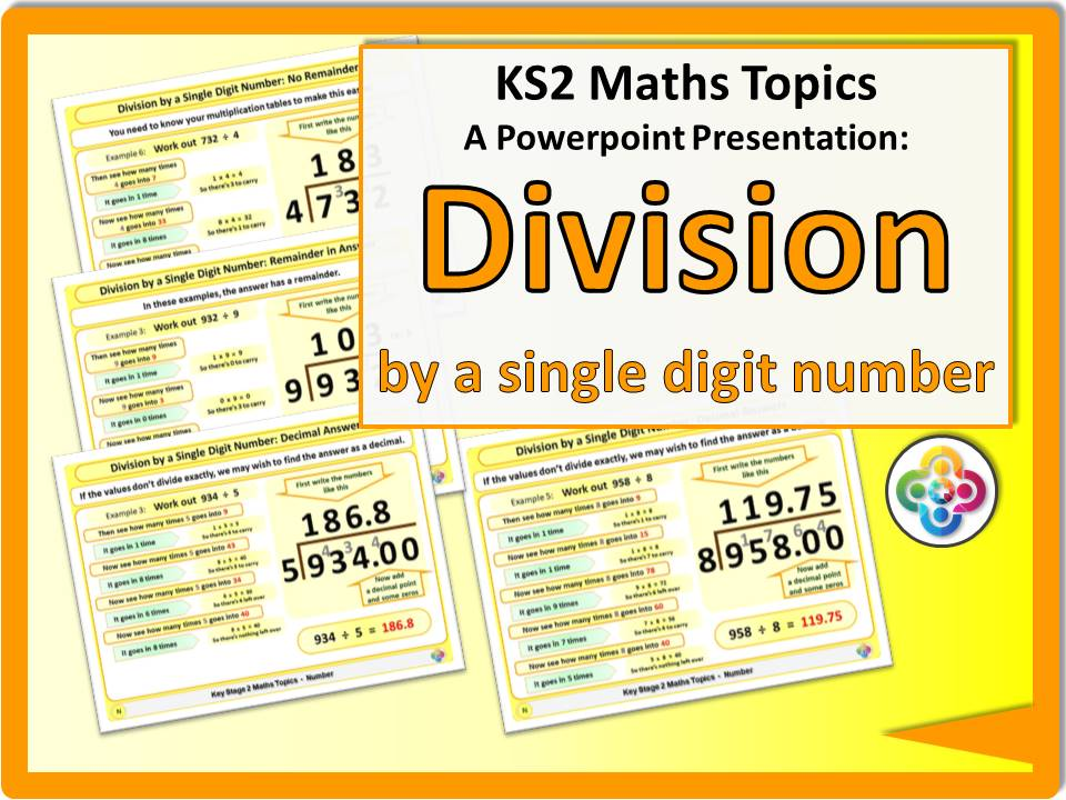Division by a Single Digit Number KS2