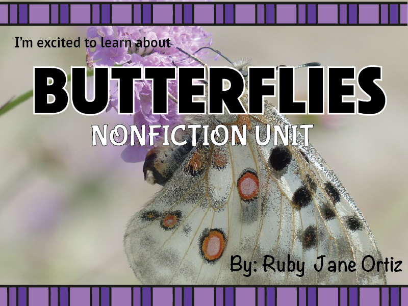 Butterfly Nonfiction Unit