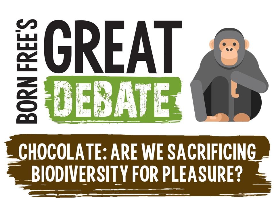 Chocolate: Are we sacrificing biodiversity for pleasure? Born Free's Great Debate for KS2