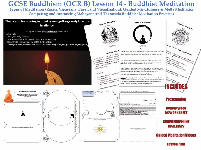 GCSE Buddhism 20 Lessons by godwin86 Teaching Resources Tes – Buddhism Worksheets