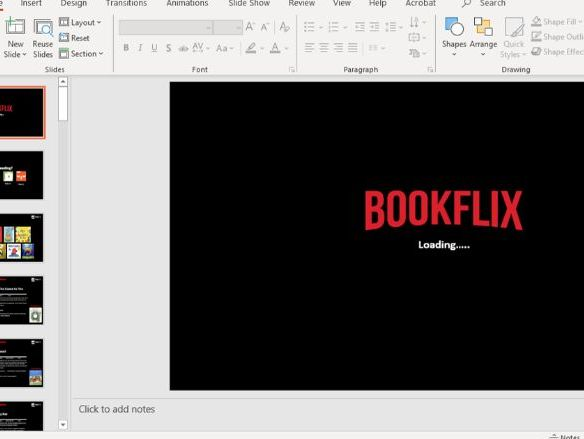 Bookflix Template