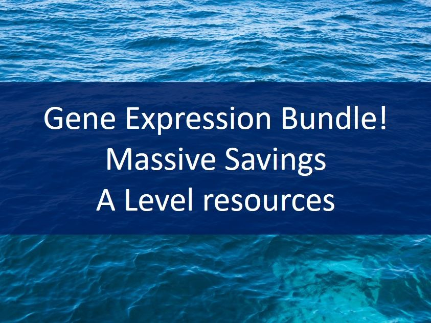 Gene Expression Bundle - siRNA, Transcription factors, Epigenetics - A Level