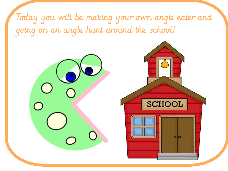 Right Angles Lesson Pack Angle Eater and Angle Hunt