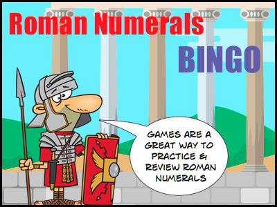 Roman Numerals Game - BINGO
