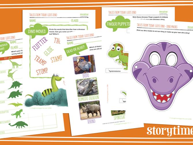 Storytime - Dinosaur Pack
