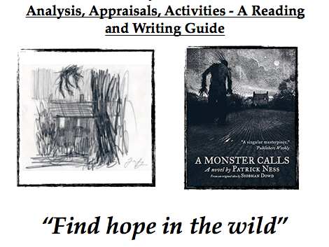 A Monster Calls - Reading & Writing Pack - Analysis, Appraisals, Activities