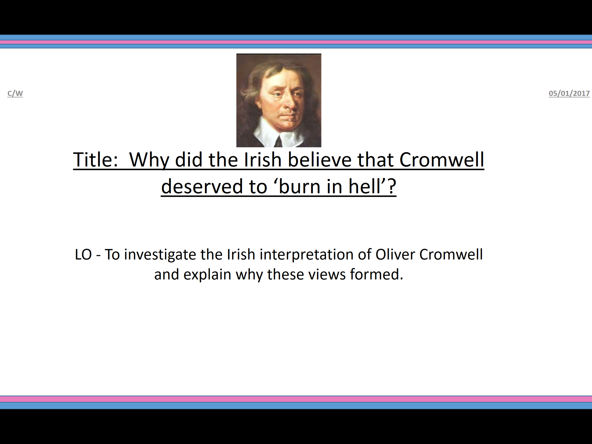 Cromwell in Ireland