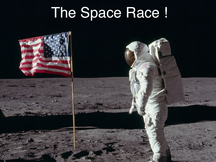 The Space Race: A '1960's style' song about the Moon Landings