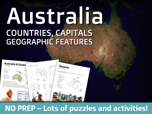 Geography - Oceania & Australia