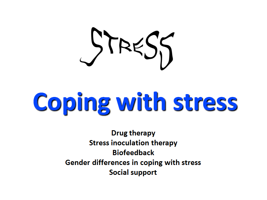 AQA Psychology - Coping with stress