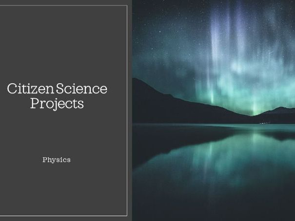 Citizen Science - physics
