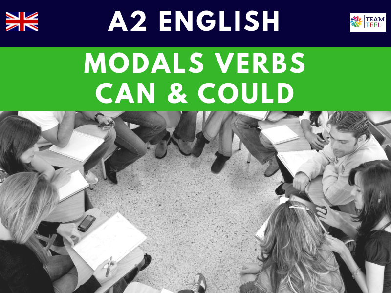 Modals - Can / Could A2 Lesson Plan | Distance Learning | Google Apps