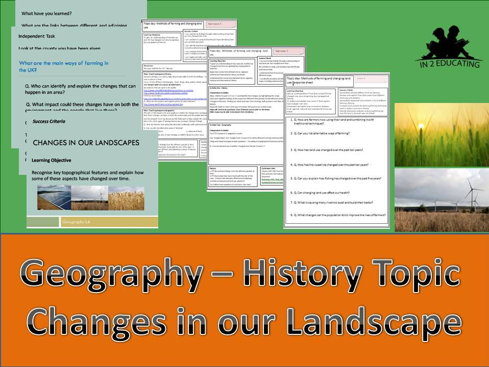 KS2 Topic Changes in our landscape