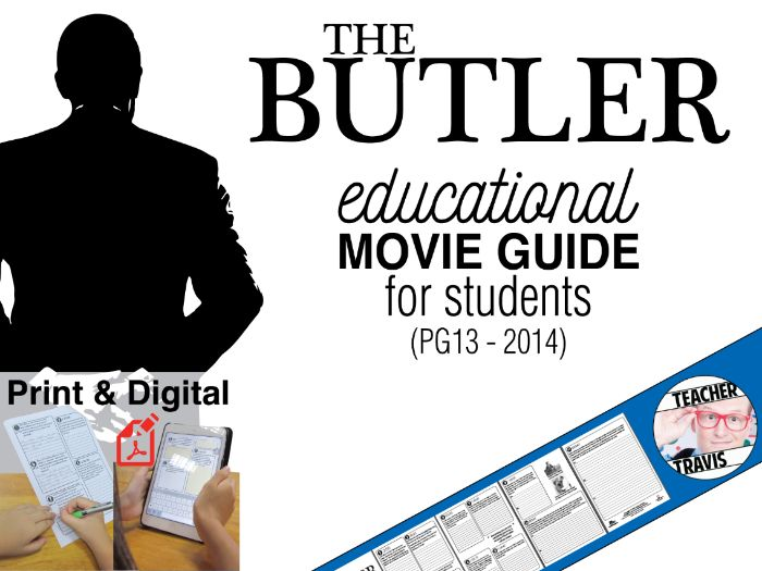 The Butler Movie Viewing Guide