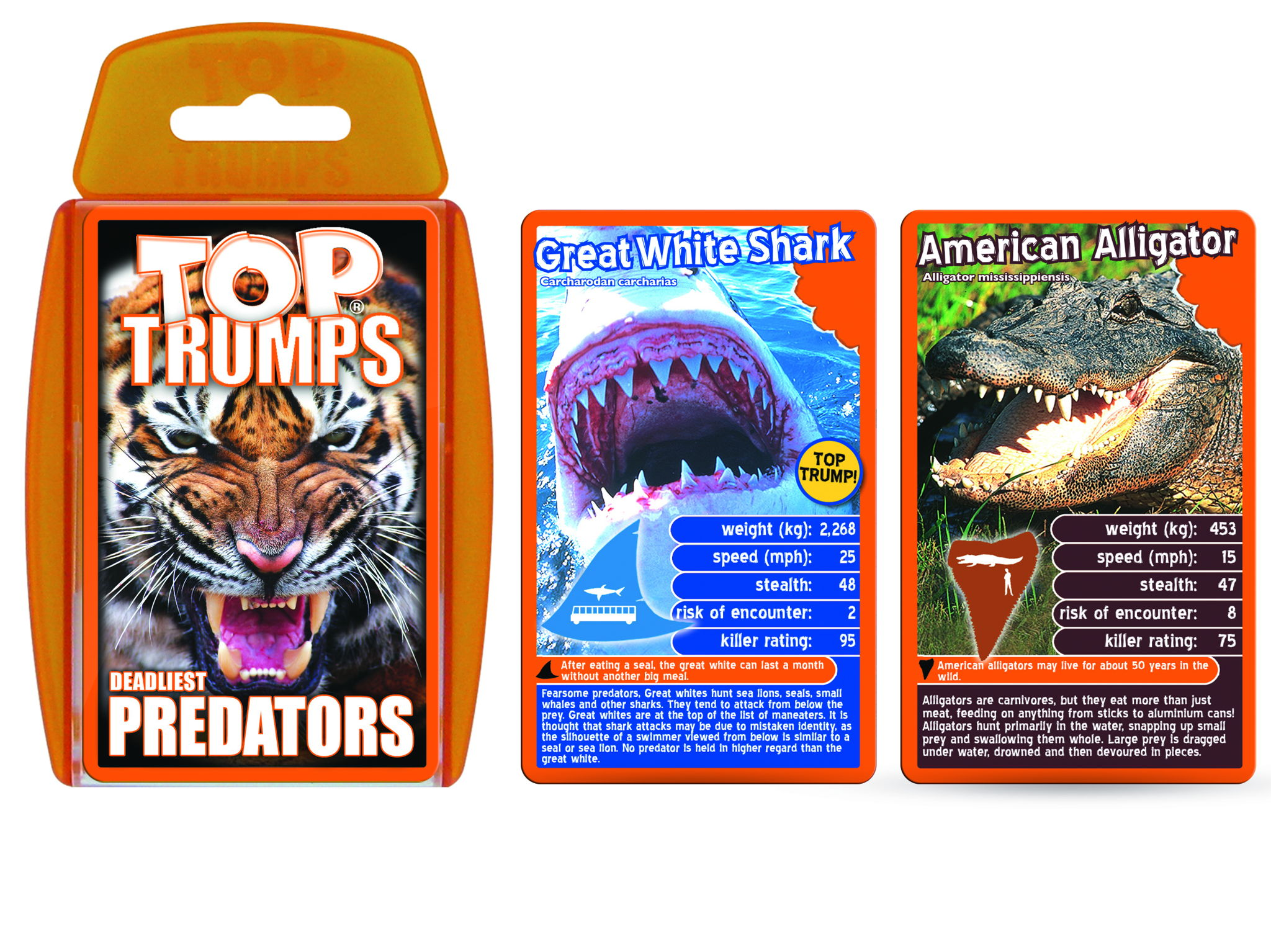 Official Predators Top Trumps