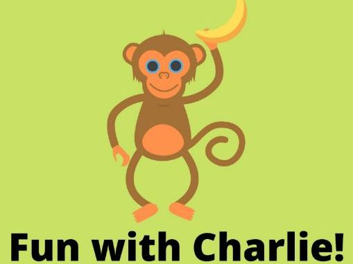 Add and subtract with Charlie-Worksheet