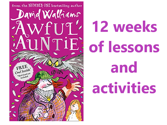 Awful Auntie English Planning - Year 4