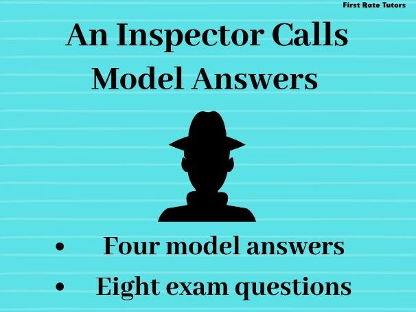 'An Inspector Calls' A* Answers: GCSE Model Answers and Revision Pack
