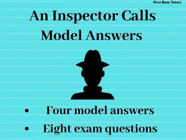 An Inspector Calls: GCSE Model Answers