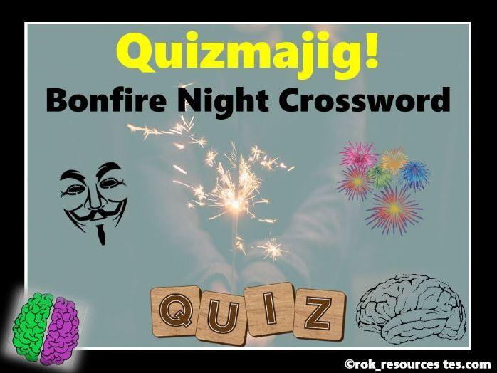 Bonfire Night Puzzle Crossword