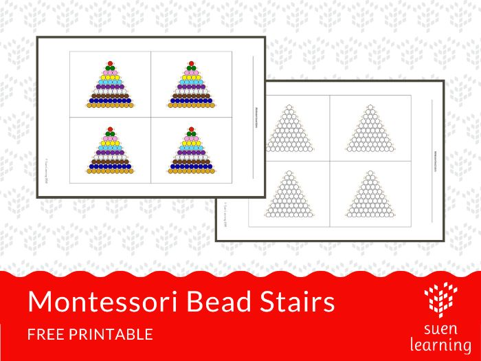 Montessori Bead Stairs