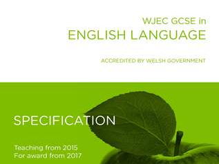 WJEC ENGLISH LANGUAGE IN WALES: PROOFREADING AND READING TASKS