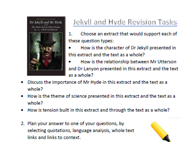 Jekyll and Hyde Revision Bundle