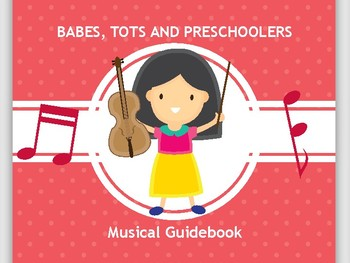 Preschool Music Book - Preschool Music Curriculum, Take Homes