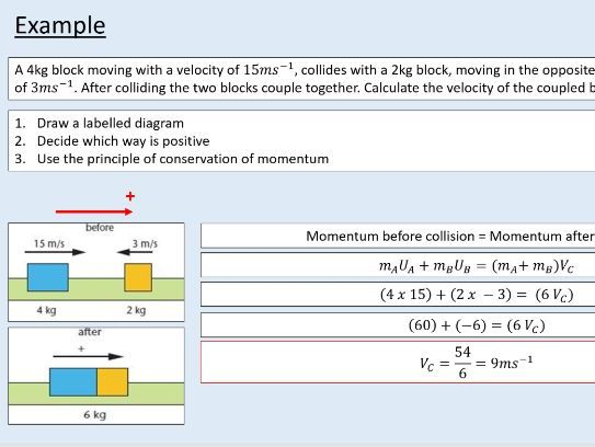 A level Physics (9.3) Conservation of momentum (Force and momentum)