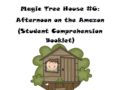 Magic Tree House Book 6: Afternoon on the Amazon
