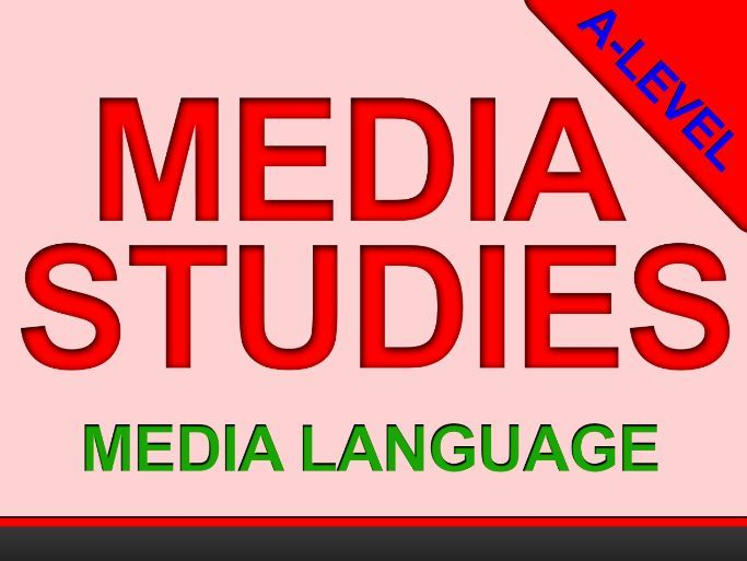 Sound and Editing (media analysis) - A-Level - INDIVIDUAL LESSON - MEDIA LANGUAGE