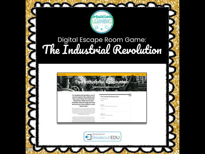 Digital Industrial Revolution Escape Room / Breakout Game