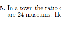 Ratios worksheet no 3 (with solutions)