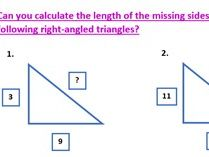 Pythagoras Worksheet